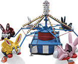 Rental World Rides - Bunny Carousel