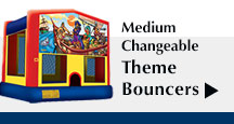 Medium Changeable Theme Bouncers