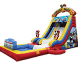 Mickey Park Slide with Detachable Pool