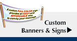 Custom Banners & Signs