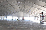 Emergency Response Solutions - Tent Installation at Donna, Texas