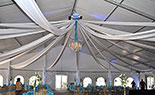 Star Ceiling Draping
