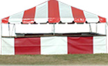 20x Frame Tent Booths