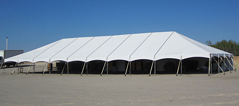 keder frame tents offer unobstructed interiors in almost any lenght