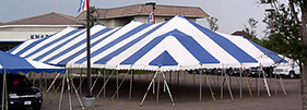 Pole tents are the industry's proven tents for all types of events!