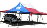 20x30 Texas Flag Tension Tent