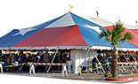 60x Texas Flag Pole Tents