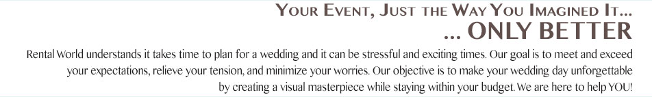 Your Event, Just the Way you imagined it... Only better
