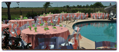 Party Center, Tables and Chiars, Linen, Flatware, Tents, Catering Equipment, Chafers and Serving Pieces
