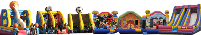 Bouncer, Slide, & Inflatable Sale - Bouncers as low as $800 and Slides as low as $1,200