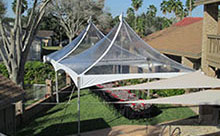 20x20 Frame/Cable Tent